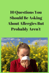 about allergies