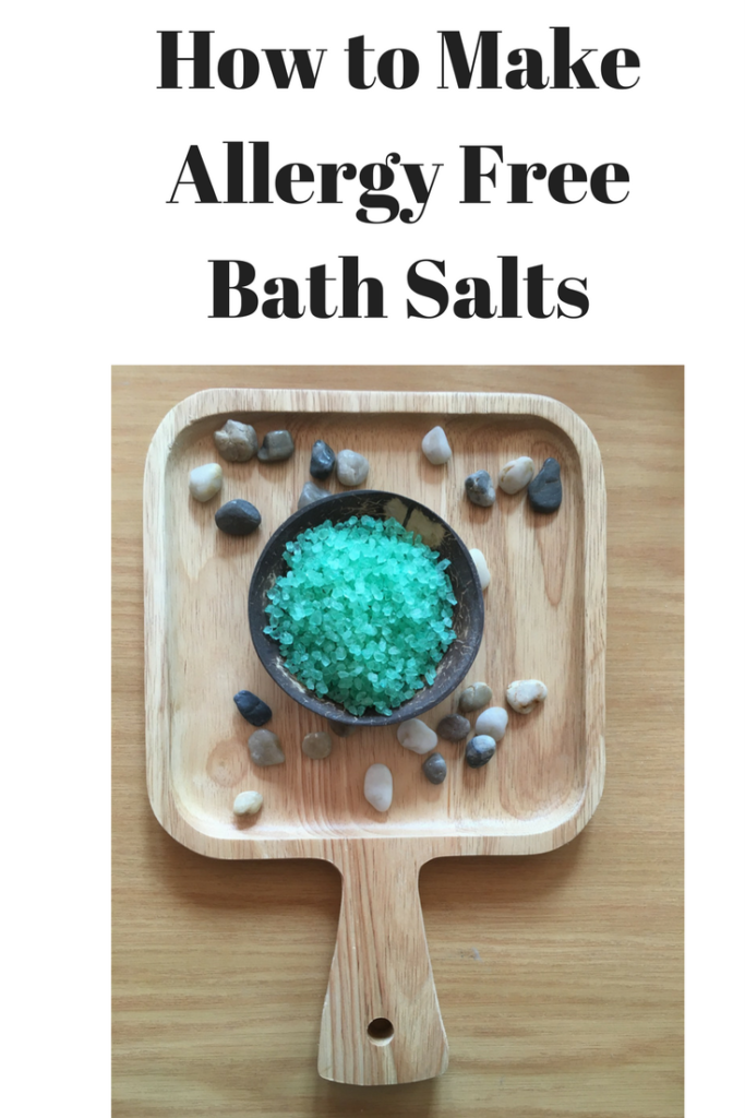 allergy free bath salts