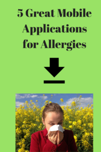 mobile applications for allergies