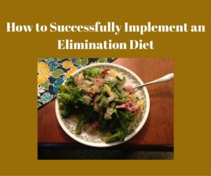 food sensitivity elimination diet