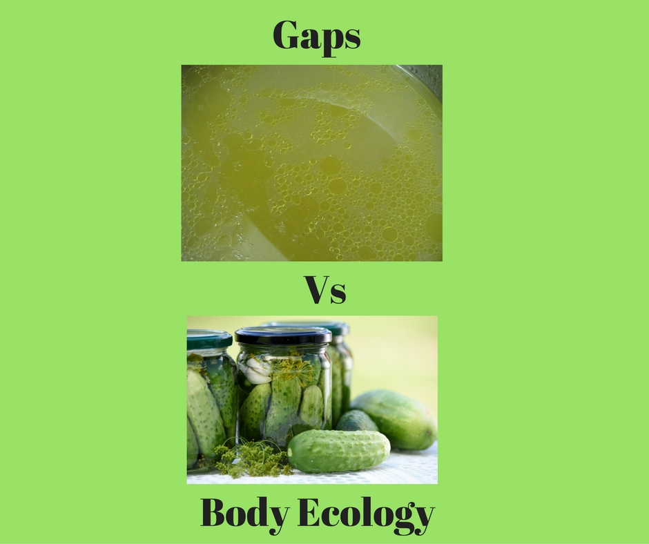 Gaps Vs Body Ecology Diet for Autism