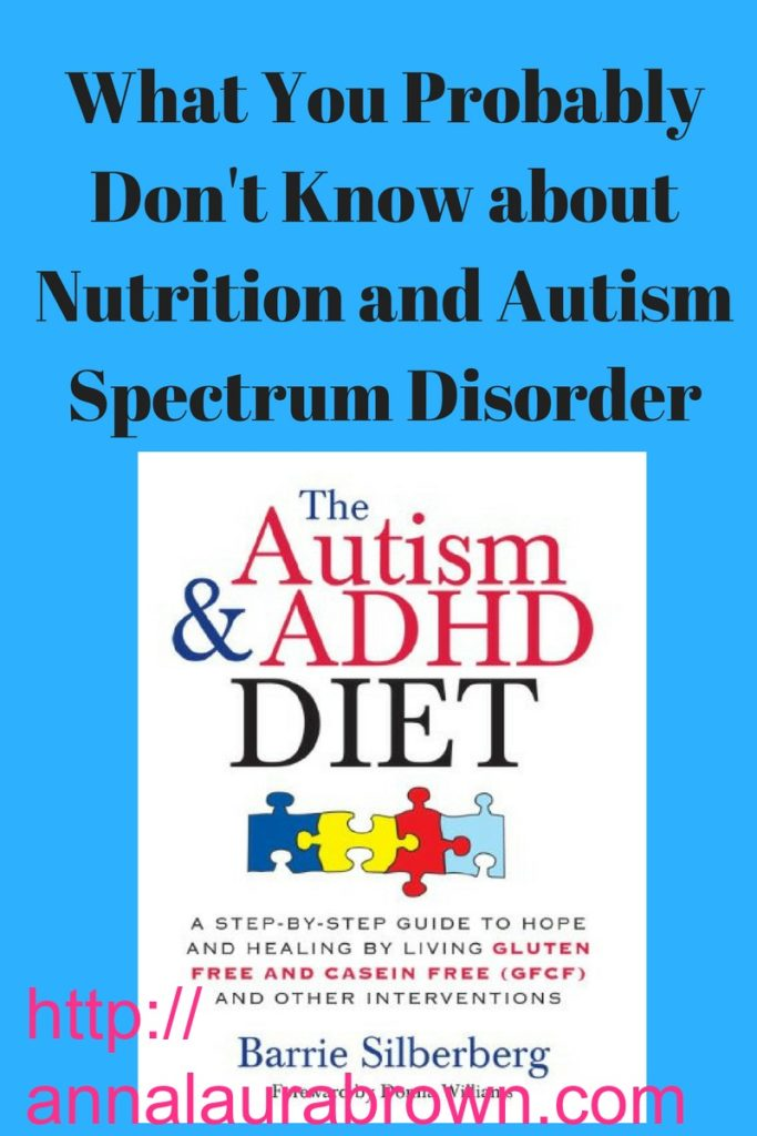 What you probably don't know about nutrition and autism spectrum disorder and should