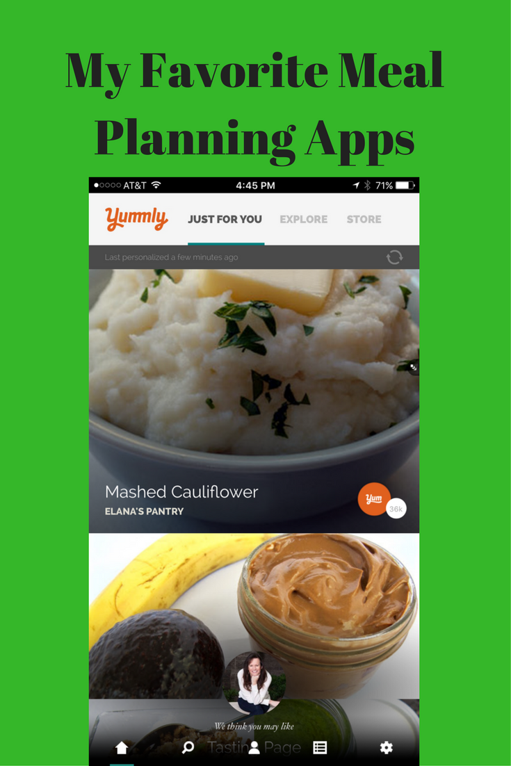 meal planning app for weight loss