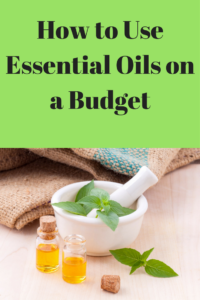 essential oils on a budget