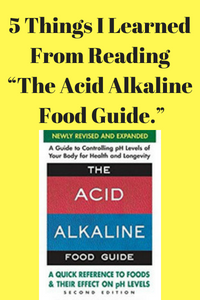 "5 Things I Learned From Reading ""The Acid Alkaline Food Guide."""