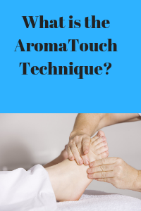 What is the aroma touch technique?