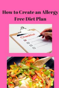 allergy free diet plan