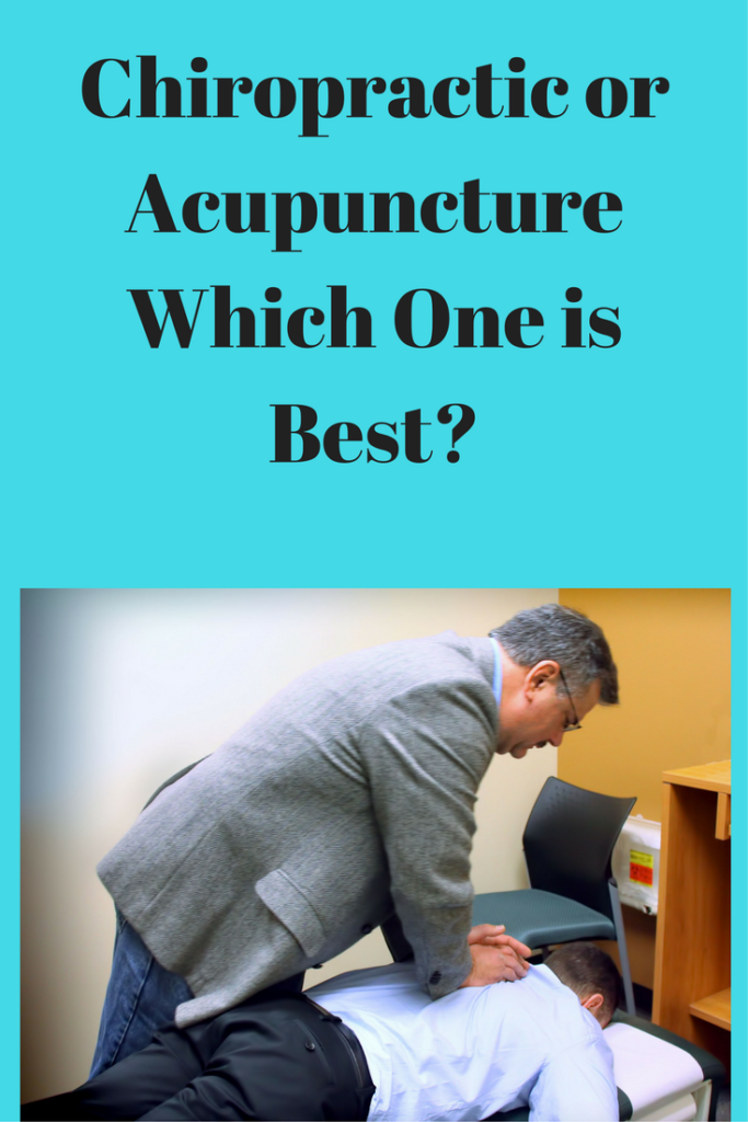 chiropractic or acupuncture