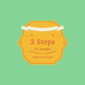 3 Easy Steps to Creating Easy and Delicious Gluten Free Meals