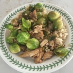 Gluten Free Chicken and Brussel Sprouts Recipe