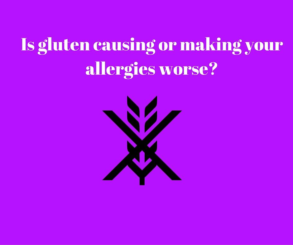 gluten and allergies