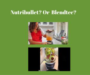 nutribullet vs blendtec