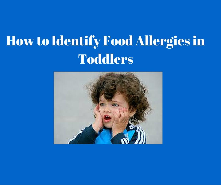 food allergies in toddlers