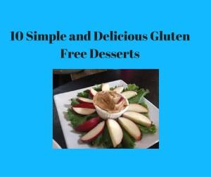 easy gluten free desserts