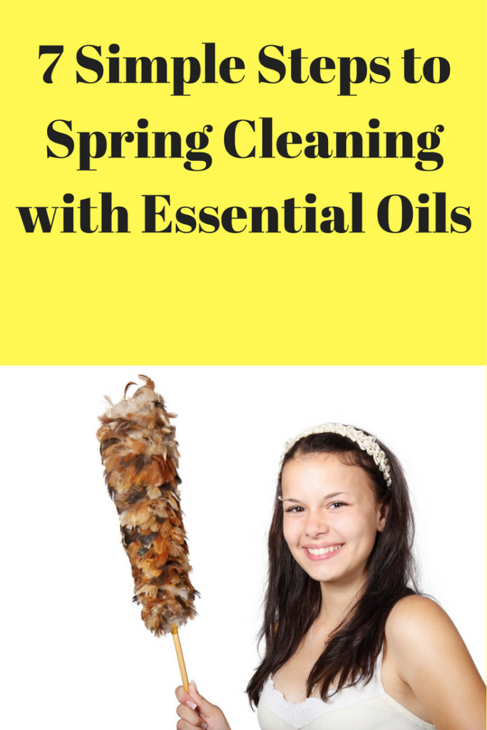7 Days to Spring Cleaning with Essential Oils