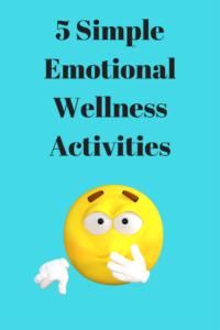 emotional wellness activities