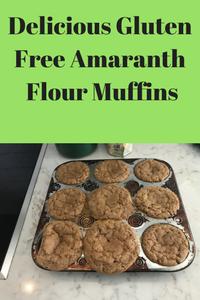 gluten free amaranth flour cupcakes