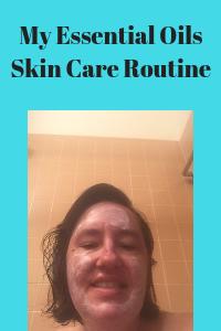 essential oils skin care routine