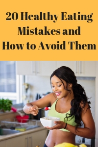 healthy eating mistakes