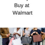 10 Things I Always Buy at Walmart