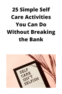 self care activities
