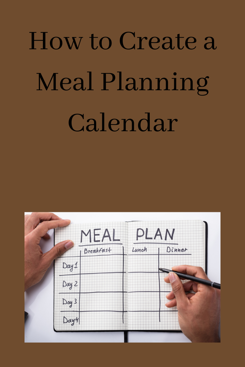 How to Create a Meal Planning Calendar